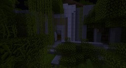 Ruins Jurassic Park Visitor Canter Minecraft Map & Project