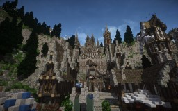 Witcher 3 inspired medieval city Westwend Minecraft Project