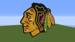 Blackhawks Logo Minecraft Map & Project