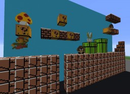 Original Mario Level Minecraft Map & Project