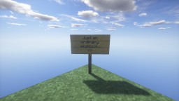 Just An Ordinary Skyblock Minecraft Map & Project
