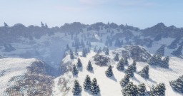 Icy Valley   Custom Landscape Minecraft Map & Project