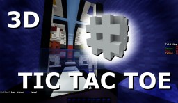 3D Tic Tac Toe [Fun Competitive] Minecraft Map & Project