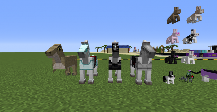 Horses With Resource Pack