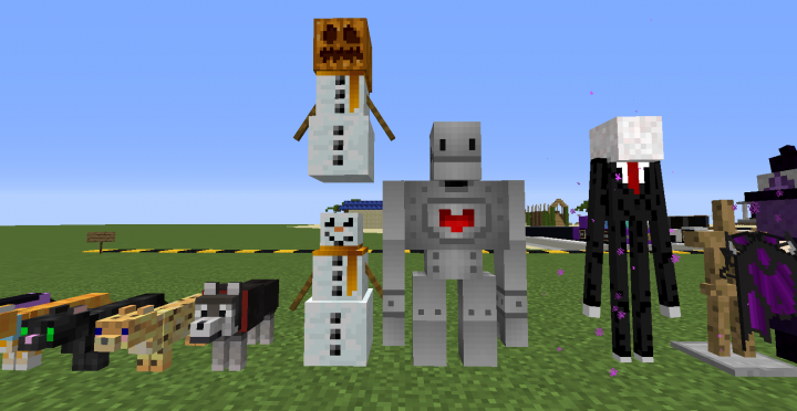 Golems With Resource Pack