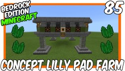 Concept Lilly Pad Farm Bedrock Edition Minecraft Project