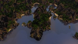 A Forest Landscape | Survival Map 2000X2000 Minecraft Project