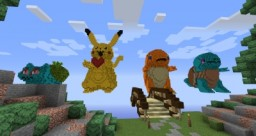 Are those pokemons?? Burn them!! Minecraft Map & Project