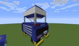 Burning Battle Bus Minecraft Map & Project