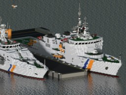 Vietnam coast guard DN -4000 + download! Minecraft Map & Project