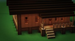 Small Cabin 2 Minecraft Map & Project