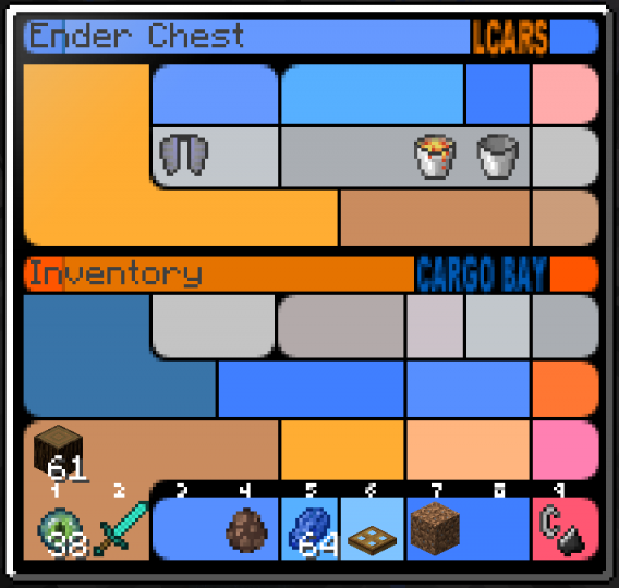LCARS Chest GUI