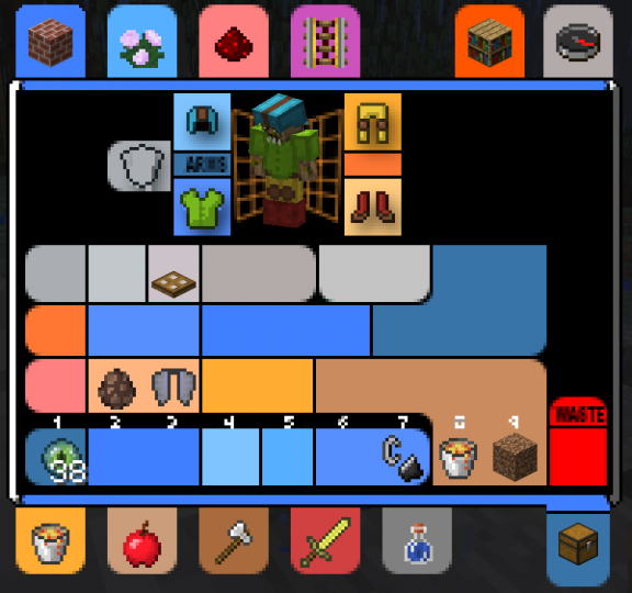 LCARS Creative Inventory Armor GUI