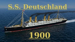 S.S. Deutschland 1900 Minecraft Project