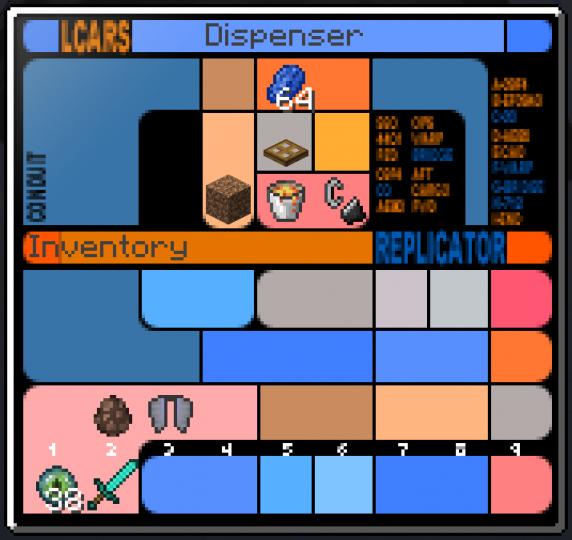 LCARS Dispenser GUI
