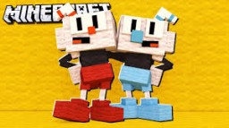 CUPHEAD MASH UP TEXTURE Minecraft Texture Pack