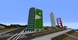 Hana bank building Minecraft Project