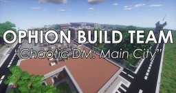 Chaotic Deathmatch: Main City Minecraft Map & Project