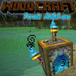 Woodcraft Toxic Add-on Minecraft Texture Pack