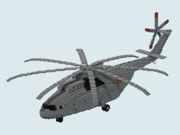 Mil Mi-26 Halo Minecraft Map & Project