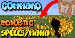 Command Block Realistic Magic Spells Minecraft Map & Project