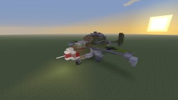 "WWII German, He-162 ""Salamander"" jet fighter Minecraft Map & Project"