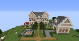 Town Home Minecraft Map & Project