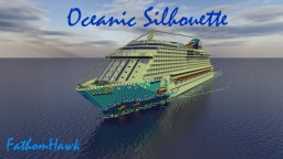 Cruise Ship- Oceanic Silhouette! [Custom Cruise][Full Interior] + Download! Minecraft