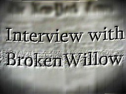 My first interview! | Interview with BrokenWillow Minecraft