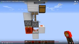 Redstone Torch Key Minecraft Project