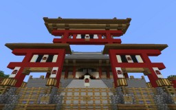 Grand Court Gate 大辕门 Minecraft Map & Project