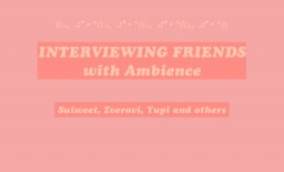 Interviewing Friends - With Ambience Minecraft Blog Post