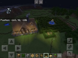 CREATIVE PE house Minecraft Map & Project