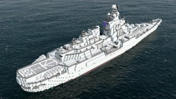 [MR] Taisho-class heavy cruiser Minecraft Project