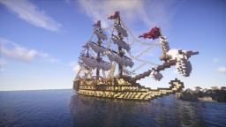 Sailing Ship Minecraft Map & Project