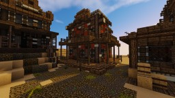 Wild Western ekhem... House of Pleasures, Another random house and a Wind Mill Minecraft Map & Project
