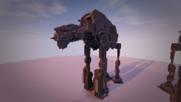 Star Wars - AT-M6 (The Last Jedi) Minecraft