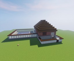 Home 4:1 scale Minecraft Map & Project