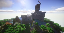 Castle with Lake and litle Docks Minecraft Map & Project