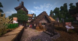 Villager Town - Conquest Reforged - Llotr Minecraft