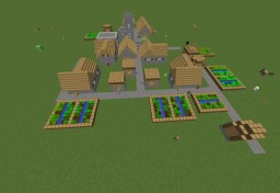The Evolution of a Minecraft Village from Cave man times to the Future!!! Minecraft Map & Project