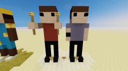 Statue Series 2: Twenty One Pilots Minecraft Map & Project