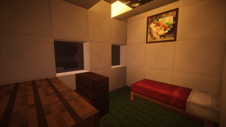 captains bedroom