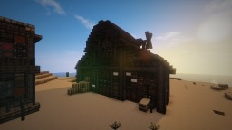 Wild Western Barn and yet another random house Minecraft Map & Project