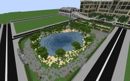 Park of relaxation and sports Minecraft Map & Project