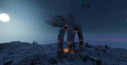 STAR WARS AT-AT Walker + schematic Minecraft Map & Project