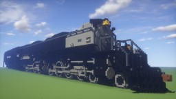 Union Pacific Big Boy #4014 Minecraft Map & Project