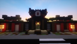 LEGO Ninjago Fire Temple Minecraft