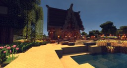 Medieval Woddenhouse on Tele-Gaming Server Minecraft Map & Project