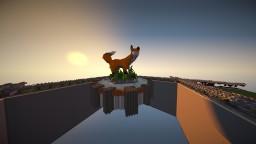 Fox Organic   With a Terrain platform   Minecraft Map & Project